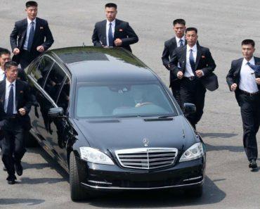 Vídeo Revela a Invulgar Escolta De Kim Jong-un Na Visita á Coreia Do Sul 6
