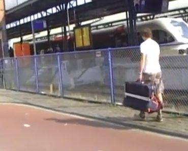 Como Viajar De Comboio De Graça! 8