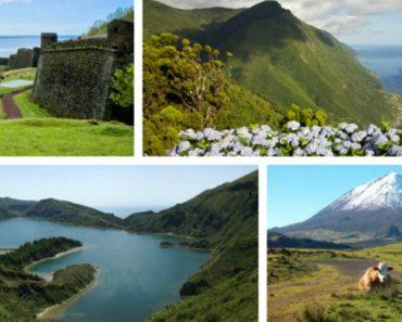Açores Considerado o Destino Com As Paisagens Mais Bonitas Da Europa 2