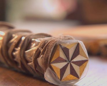 Fascinante Arte Tradicional Japonesa Que Usa Diferentes Madeiras Para Criar Padrões 9