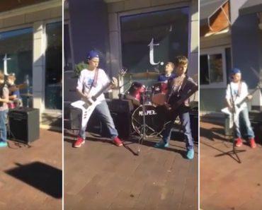 Estes Três Irmãos Incrivelmente Talentosos Surpreendem Ao Tocar Metallica 4