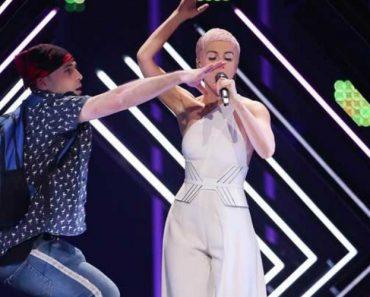 Eurovisão: Homem Invade Palco e Tira Microfone à Representante Do Reino Unido 2