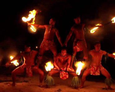 Grupo Havaiano Faz Extraordinária Atuação De Malabarismo Com Fogo 8