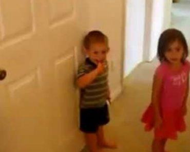 Ágeis Irmãos De 3 e 4 Anos Mostram Como Superam Qualquer Desafio Para Chegarem Aos Doces 1