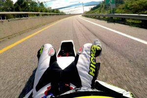 Veja Como Este Desportista Consegue Atingir Mais De 160 Km/h Estando Completamente Deitado 9