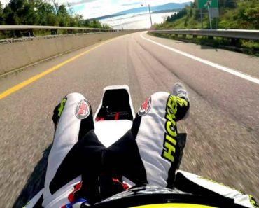 Veja Como Este Desportista Consegue Atingir Mais De 160 Km/h Estando Completamente Deitado 2