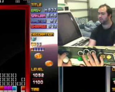 Jogador Chega Ao Nível Mais Alto Do Tetris e a Velocidade é Alucinante 9