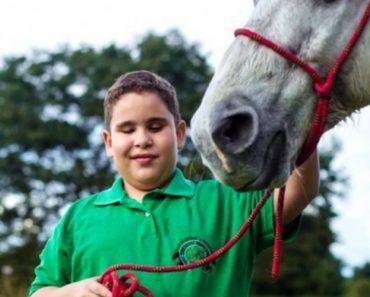 Menino Cego Treina e Compete Com Cavalo Que Também é Invisual 2