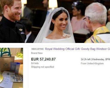 Convidados Do Casamento Real Vendem Brindes Do Casamento Na Internet 3