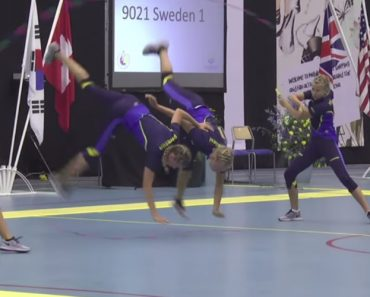 Atletas Fazem Espetacular Atuação Durante Competição Mundial De Salto à Corda 5
