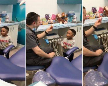 Dentista Deixa Criança Maravilhada Com Truque De Magia 7