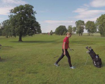 Jogadora De Golfe Não Fica Satisfeita Com Presença De Drone e Toma Medida Drástica 24