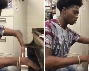 Jovem Com Deformação Nas Mãos Cumpre o Seu Sonho De Ser Pianista 6