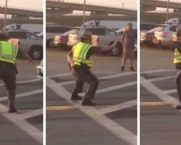 Polícia Mostra o Que é Ter Boa Disposição No Trabalho Até No Momento De Comandar o Trânsito 2
