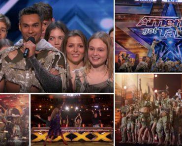 Grupo De Acrobatas Leva Auditório Do America's Got Talent à Loucura e Recebe o Botão Dourado 5