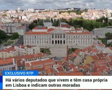 Há Vários Deputados Que Vivem e Têm Casa Própria Em Lisboa e Indicam Outras Moradas Para Receber Ajudas De Custo 2