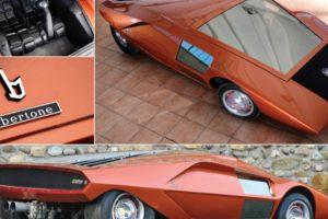 Lancia Stratos HF Zero: o Futurístico Carro de 1970 9