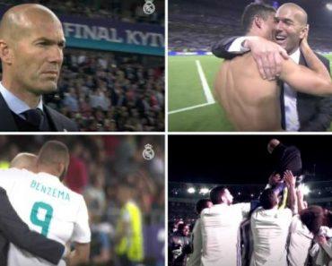 Real Madrid Despede-se De Zidane Com Vídeo Recheado De Emoção 5