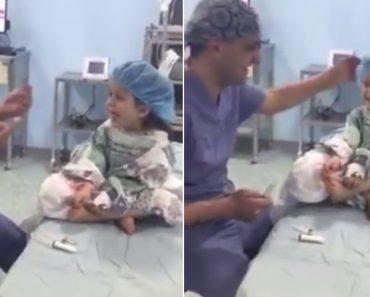 Anestesista Consegue Fazer Com Que Menina Ria à Gargalhada Pouco Antes De Ser Operada 1