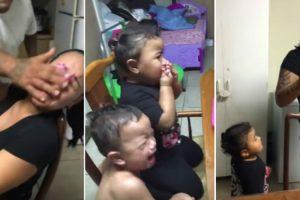 Crianças Revoltam-se Ao Verem o Pai Esfregar Cobertura De Bolo Na Cara Da Mãe e Ainda Defendem-na 13