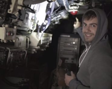 Vídeo Mostra Jovens Turistas a Invadir Submarino Abandonado Em Almada 2