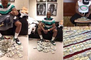 Floyd Mayweather Despeja Saco De Dinheiro Dentro De Uma Loja 9