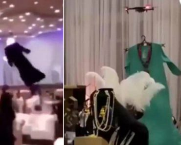 Drones Substituem Modelos Femininos Em Bizarro Desfile De Moda Na Arábia Saudita 6