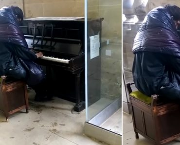 Sem Abrigo Encontra Piano Numa Estação De Metro e Faz Atuação Impressionante 1