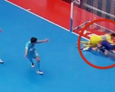 Será Este o Pior Autogolo Da História Do Futsal? Provavelmente Sim 9