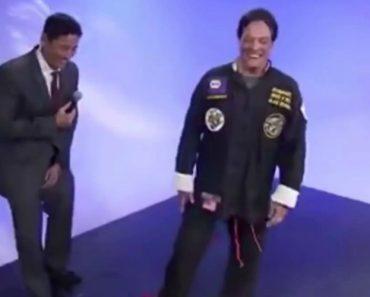 """Apresentador Acidentalmente Revela Segredo De """"Mestre"""" De Kung Fu 1"""