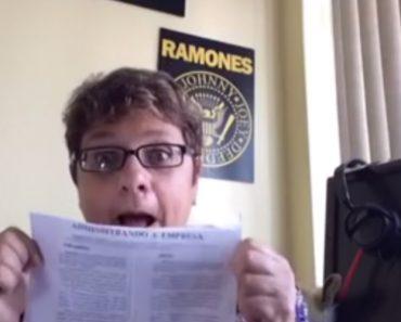 Mãe Faz Vídeo No Youtube Para Mandar o Filho Estudar 7