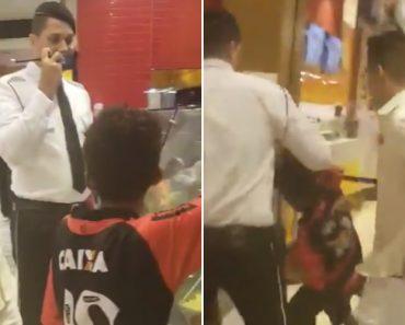 Cliente Revolta-se Quando Segurança De Shopping Tenta Impedi-lo De Pagar Refeição a Menino De Rua 4