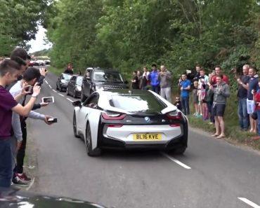 O Que Acontece Quando Um BMW Elétrico Participa Num Evento Automóvel De Superdesportivos 4