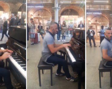 Homem Arrasa Ao Tocar Piano Que Encontra Na Estação De Londres 4