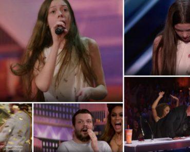 Aos 13 Anos Conquista o Botão Dourado é o Mais Recente Fenómeno Do America's Got Talent 1