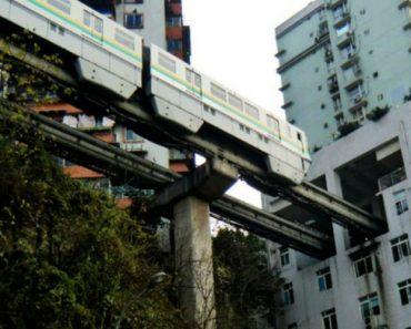 Inacreditável Obra De Engenharia Mostra Como o Metro Passa Por Dentro De Um Edifício De Apartamentos 5