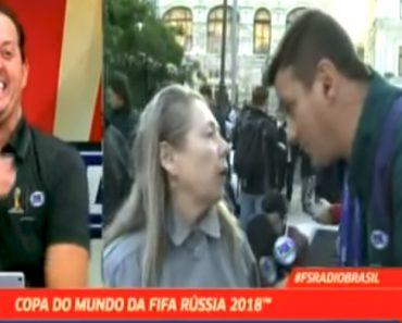Provavelmente a Entrevista Mais Hilariante Do Campeonato Do Mundo Até Ao Momento 8