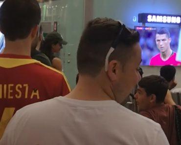 Um Português Entre Muitos Espanhóis: Imagina Como Foi a Reação Ao 3º Golo De Ronaldo? 2