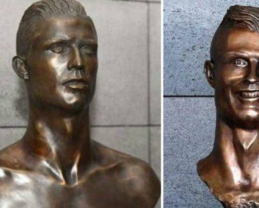 Já Viu Como é o Novo Busto De Cristiano Ronaldo No Aeroporto Da Madeira? Agora o Escultor é Espanhol 6