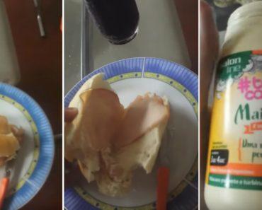 Jovem Descobre De Forma Hilariante Que a Maionese Não Serve Só Para Comer 8