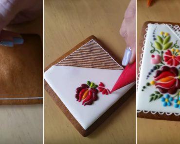 A Maravilhosa Arte De Decoração De Um Biscoito 1