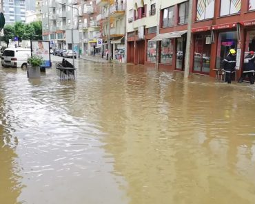 Muita Chuva, Trovada e Queda De Granizo: Assim Está a Ser o Início De Verão Em Lamego 4