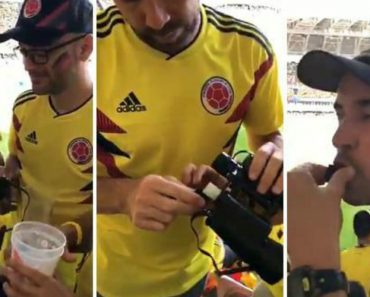 Adeptos Colombianos Usam Binóculos Para... Fazer Entrar Álcool Nos Estádios 9