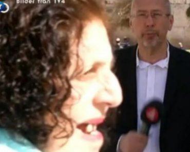 Jornalista Sofre Cómico Imprevisto Durante Reportagem Em Direto 4
