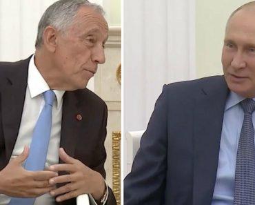 """TV Chinesa Mete Marcelo a Fumar """"Charro"""" Em Conversa Com Putin 7"""