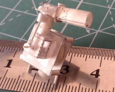 Paciente e Engenhoso Homem Constrói Funcional Motor De Cilindro Único Totalmente Feito De Papel 5