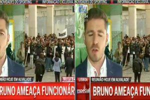 Repórter Da CMTV Engana-se No Nome De Bruno De Carvalho Durante Emissão Em Direto 10