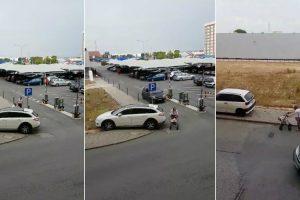 Vídeo Filmado Em Setúbal Mostra Como Existem Condutores Bastante Idiotas 10