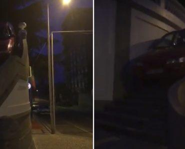 """Homem Desce Escadaria De Carro No Porto. """"Tu És o Maior"""", Gritam Amigos 3"""
