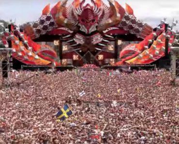 """Milhares De Pessoas Criam """"Terramoto Humano"""" Num Dos Maiores Festivais De Música Eletrónica 5"""